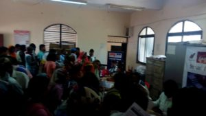 Samrt Health day 5 -  Health Camp at Rampur Zone Office