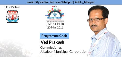 jmc jabalpur & Elets Announces Smart City Jabalpur Conference on 20 May