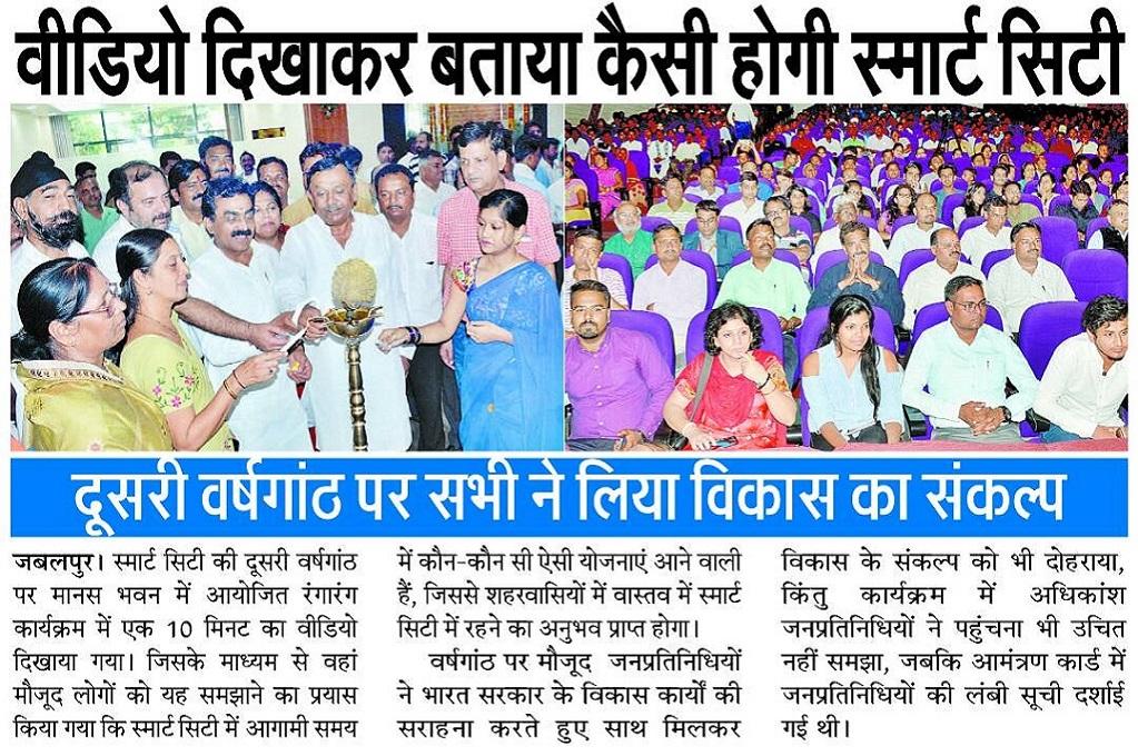 News About Jabalpur in Patrika