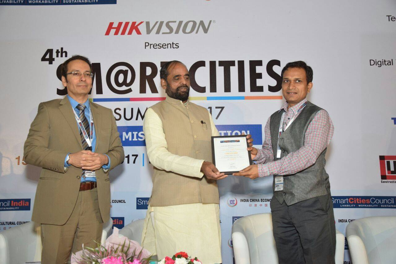 Smart City Leader Award Given By Smart City Council Of India