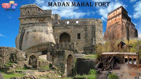 Places of Tourist Interest Smart City Jabalpur - मदन महल का किला
